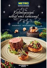 Metro Gourmet katalógus 2019. 12.04-12.31