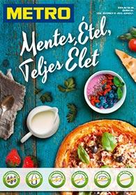 Metro Mentes Étel katalógus 2019. 12.18 - 2020. 01.07