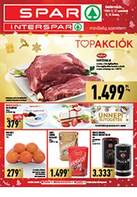 Spar akciós újság 2019. 12.12-12.18