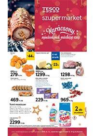 Tesco szupermarket akciós újság 2019. 12.12-12.18