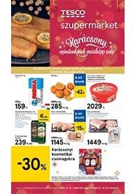 Tesco szupermarket akciós újság 2019. 12.19-12.24