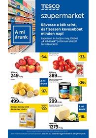 Tesco szupermarket akciós újság 2020. 01.02-01.08