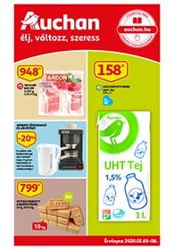 Auchan akciós újság 2020. 01.03-01.08