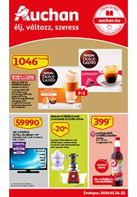 Auchan akciós újság 2020. 01.16-01.22