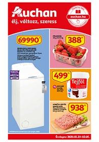 Auchan akciós újság 2020. 01.23-02.05