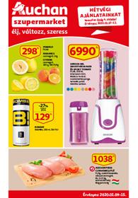 Auchan Szupermarket akciós újság 2020. 01.09-01.15