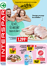 Interspar akciós újság 2020. 01.16-01.22