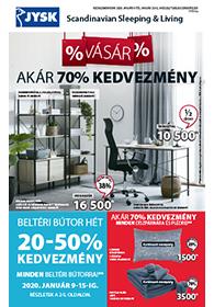 JYSK akciós újság 2020. 01.09-01.22