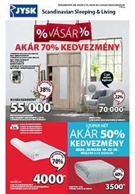 JYSK akciós újság 2020. 01.16-01.29