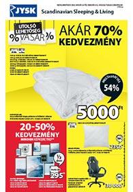 JYSK akciós újság 2020. 01.23-02.05