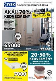 JYSK akciós újság 2020. 01.30-02.12