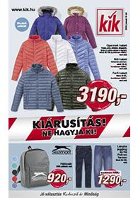 Kik textil akciós újság 2020. 01.08-tól