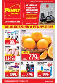 Penny Market akciós újság 2020. 01.09-01.15