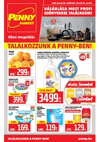 Penny Market akciós újság 2020. 01.23-01.29