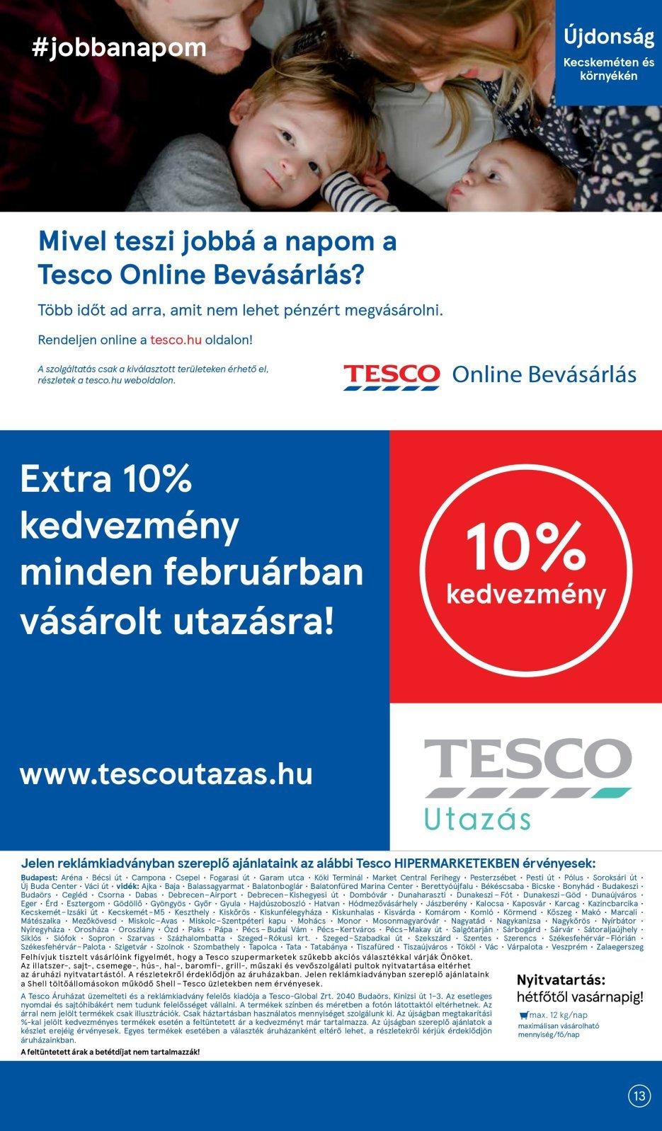 Tesco akciós újság 2020. 01.30-02.05