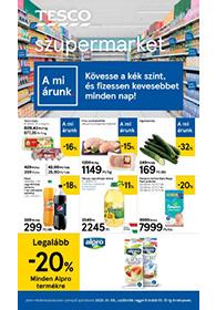 Tesco szupermarket akciós újság 2020. 01.09-01.15