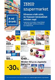 Tesco szupermarket akciós újság 2020. 01.16-01.22