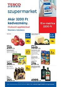 Tesco szupermarket akciós újság 2020. 01.30-02.05