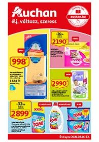 Auchan akciós újság 2020. 02.06-02.12