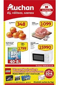 Auchan akciós újság 2020. 02.13-02.19