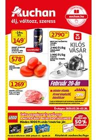Auchan akciós újság 2020. 02.20-02.26