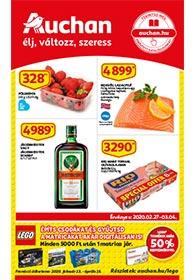 Auchan akciós újság 2020. 02.27-03.04
