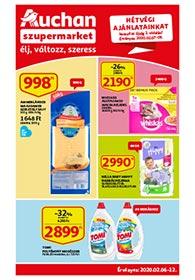 Auchan Szupermarket akciós újság 2020. 02.06-02.12