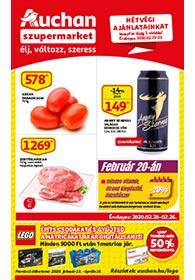 Auchan Szupermarket akciós újság 2020. 02.20-02.26