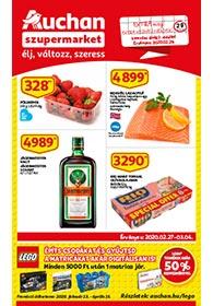 Auchan Szupermarket akciós újság 2020. 02.27-03.04