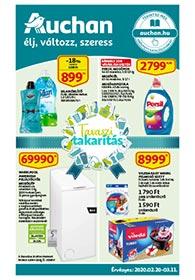 Auchan Tavaszi Takarítás akciós újság 2020. 02.20-03.11