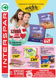 Interspar Gyula akciós újság 2020. 02.06-02.12