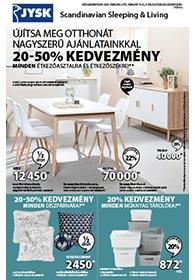 JYSK akciós újság 2020. 02.06-02.19