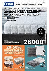 JYSK akciós újság 2020. 02.13-02.26