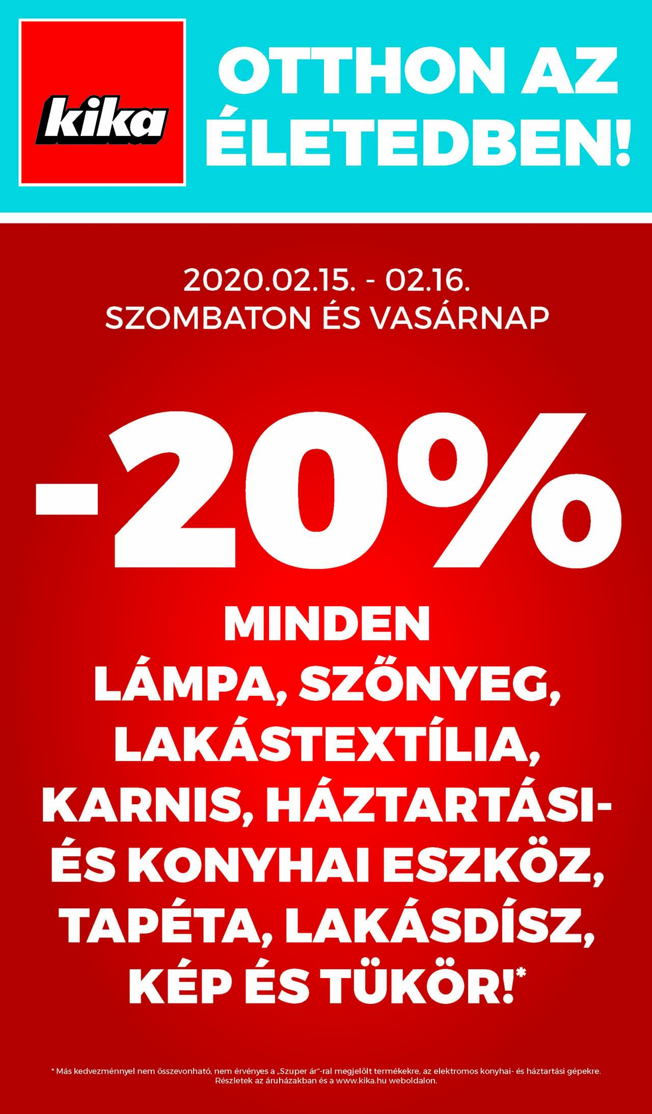 kika akciós újság 2020. 02.12-02.25