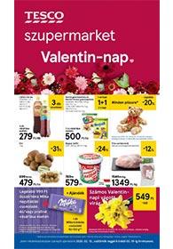 Tesco szupermarket akciós újság 2020. 02.13-02.19