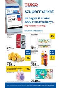 Tesco szupermarket akciós újság 2020. 02.20-02.26
