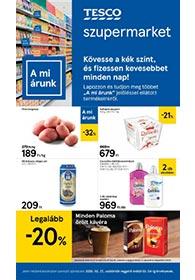 Tesco szupermarket akciós újság 2020. 02.27-03.04