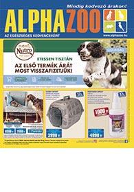 Alphazoo akciós újság 2020. 03.09-03.22
