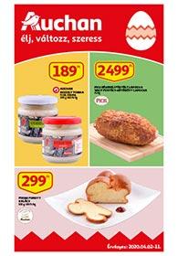 Auchan akciós újság 2020. 04.02-04.11