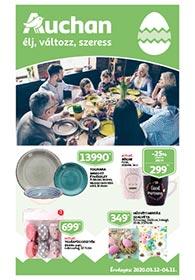 Auchan Húsvéti katalógus 2020. 03.12-04.11