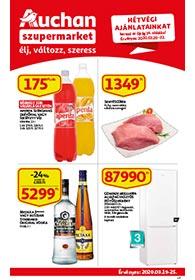 Auchan Szupermarket akciós újság 2020. 03.19-03.25