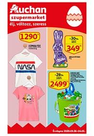 Auchan Szupermarket akciós újság 2020. 03.26-04.01