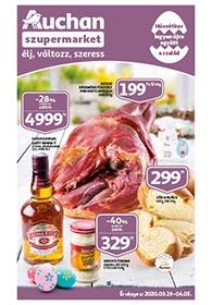 Auchan Szupermarket Húsvéti katalógus 2020. 03.19-04.05