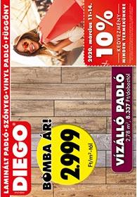 Diego akciós újság 2020. 03.01-03.31
