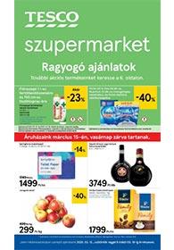 Tesco szupermarket akciós újság 2020. 03.12-03.18