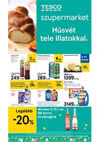 Tesco szupermarket akciós újság 2020. 03.19-03.25