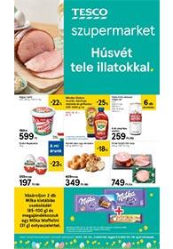 Tesco szupermarket akciós újság 2020. 04.02-04.06