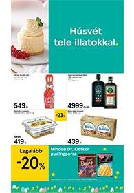 Tesco szupermarket akciós újság 2020. 03.26-04.01