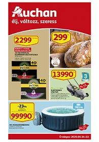 Auchan akciós újság 2020. 04.14-04.22