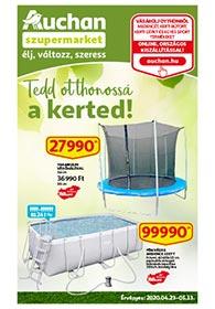 Auchan Szupermarket Kert katalógus 2020. 04.23-05.13
